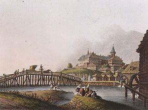 Dealul Spirii la 1837