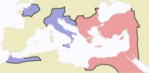 Imperiul Roman in jurul anului 476