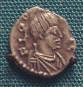 Moneda cu chipul lui Odoacru
