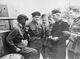 Sovieticii testeaza tutunul german