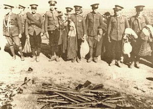 Dezarmarea ostașilor români