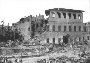 Haremul după bombardament