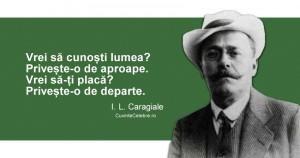"""I.L. Caragiale- """"O mare durere să iubeşti, o mare nenorocire să scapi de această durere"""""""