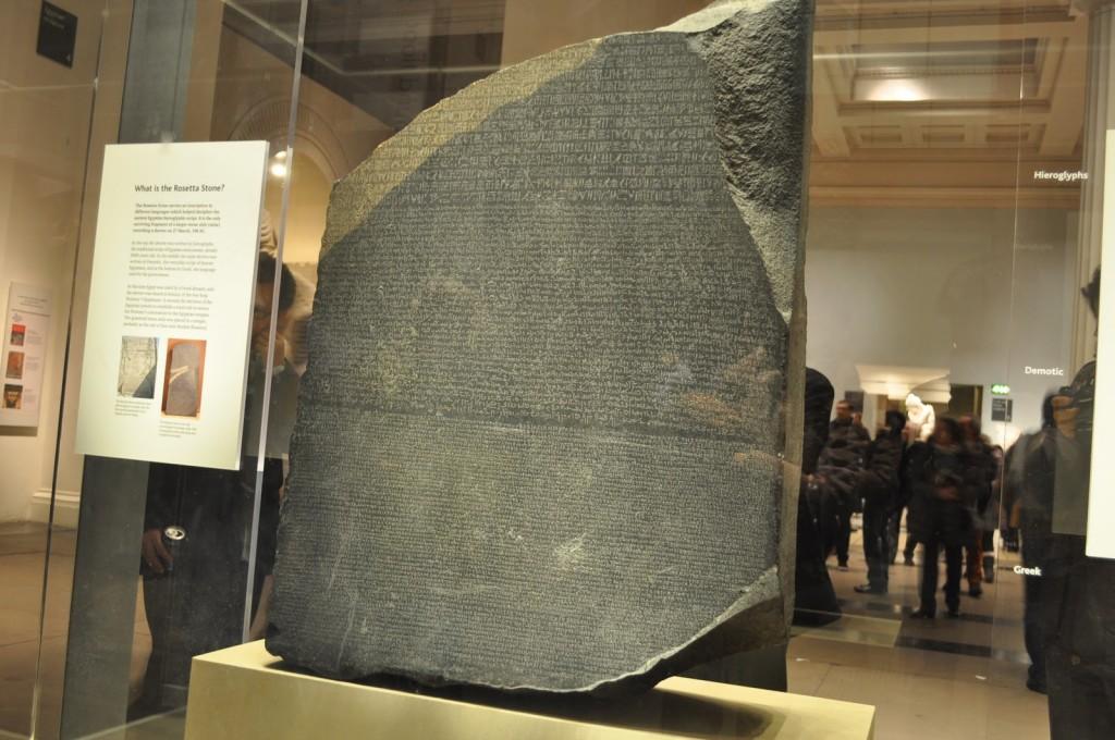 Piatra Rosetta, cea după care au fost descifrate hieroglifele