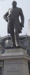 Mihail_Kogalniceanu_Bucharest_statue