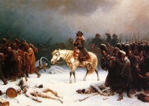 Napoleon se retrage din Rusia