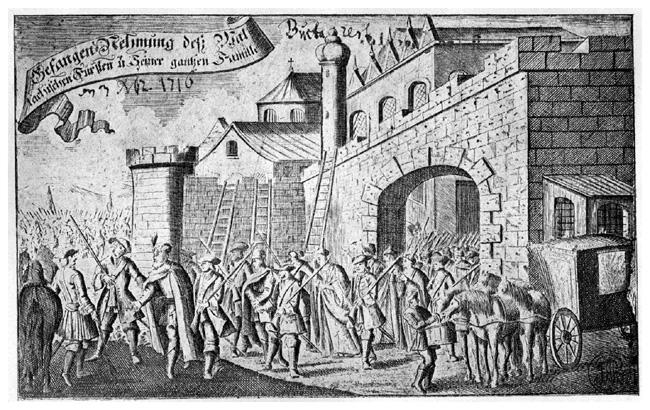 Mavrocordat este luat prizonier