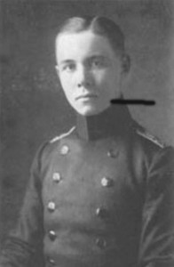 Cadetul Rommel, circa 1910