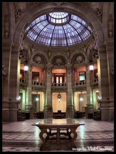 Interior al Palatului CEC