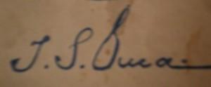 Semnătura lui Duca
