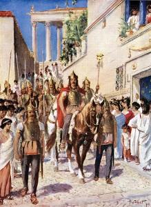 Alaric în Atena (395)