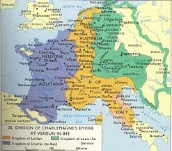 Partiția Imperiului Carolingian