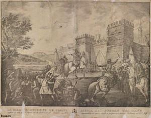 Gheorghe Asaky - Muma lui Ştefan cel Mare refuzând intrarea fiului său în cetatea Neamţ