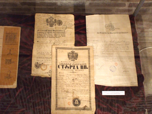 Paşapoarte care au aparţinut lui Alexandru Ioan Cuza