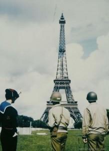 Soldați americani în Paris
