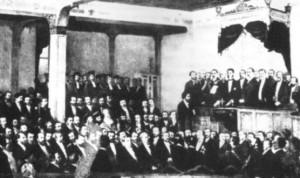 Carol secondat de Brătianu depune jurământul