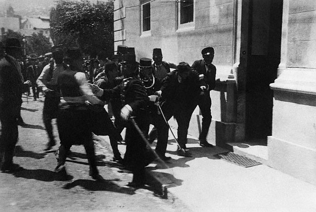 Arestarea lui Gavrilo Princip