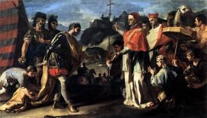 Attila si papa Leon