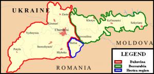 Bucovina si Basarabia de Nord