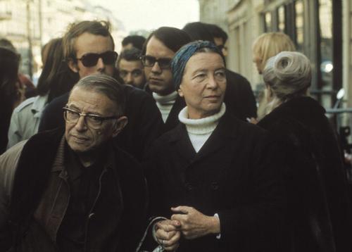 Jean Paul Sartre Simone de Beauvoir