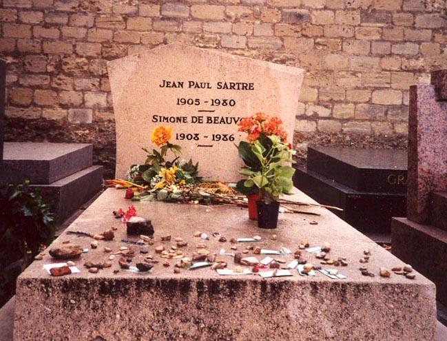 Mormant Sartre Beauvoir