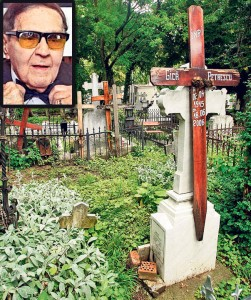 Mormantul lui Gica Petrescu