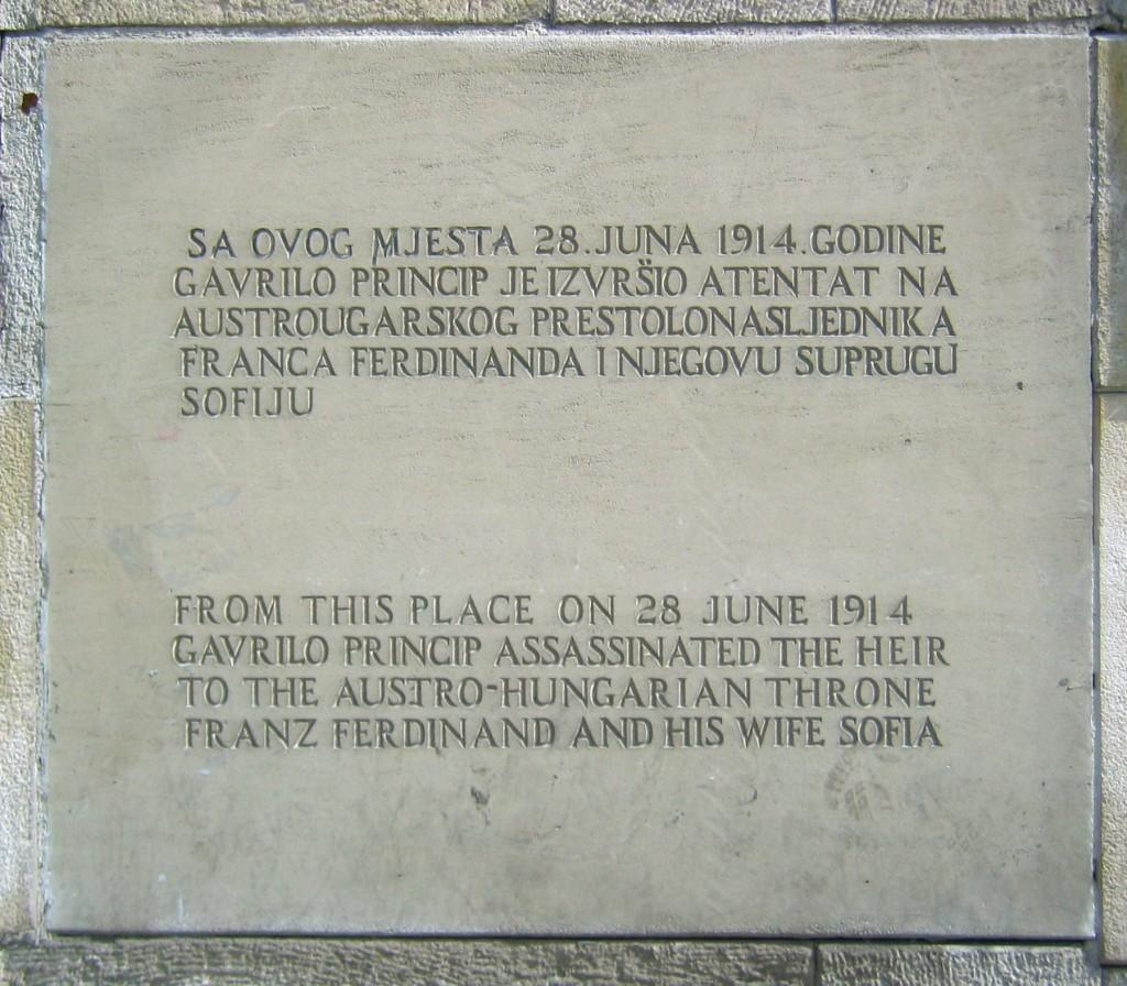 Placa Sarajevo