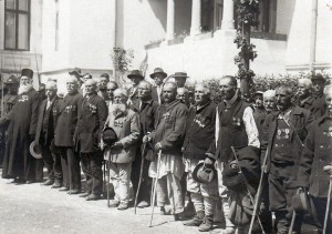 Veterani ai Războiului de Indepedență în 1928