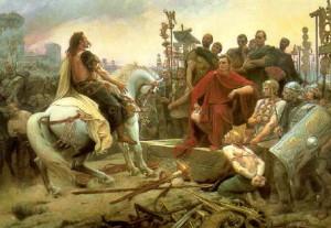 Cezar si Vercingetorix
