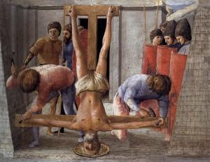 Crucificarea sfantului Petru
