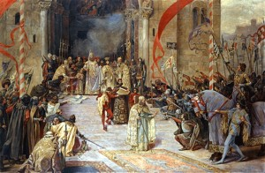 Incoronarea lui Stefan Dusan IV