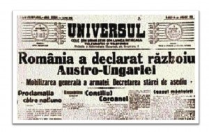 Declaratie de razboi Austro-Ungaria