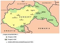 Ungaria după Dictatul de la Viena din 30 august 1940