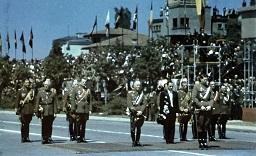 Regele Mihai si Maresalul Ion Antonescu parada de 10 mai 1943