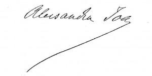 Semnătura lui Alexandru  Ioan Cuza
