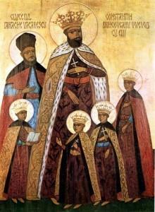 Familia Brâncoveanu și credinciosul sfetnic, clucerul Ianache Văcărescu