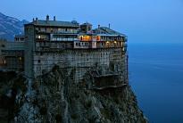 Biserica de pe muntele Athos