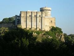 Actualul castel de la Falaise, locul unde s-a născut William.