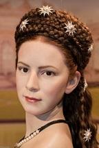 Elisabeta la Muzeul Figurilor de Ceară