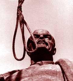 Lenin spanzurat