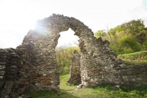 Ruinele mănăstirii Vodița