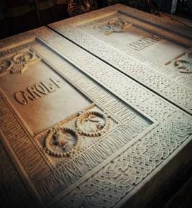 Locurile de veci ale regelui CarolI  si al reginei Elisabeta