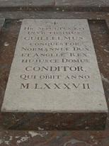 Piatra de mormant a lui William Cuceritorul