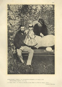 Cuplul regal și micuta Maria