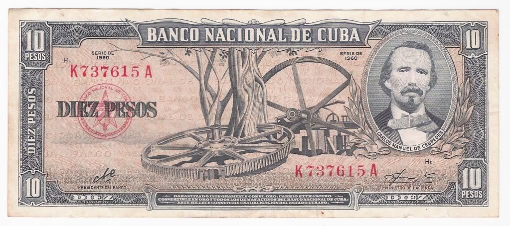 "Bancnota semnata in stanga jos de ""Che"""