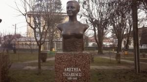 Bust Arethia Tatarascu