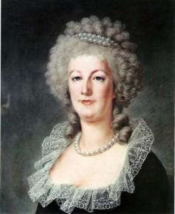 Maria Antoaneta in 1791
