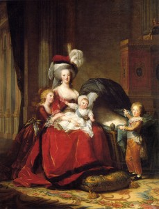 Maria Antoaneta si copiii