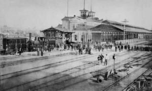 Prima cale ferata din Romania