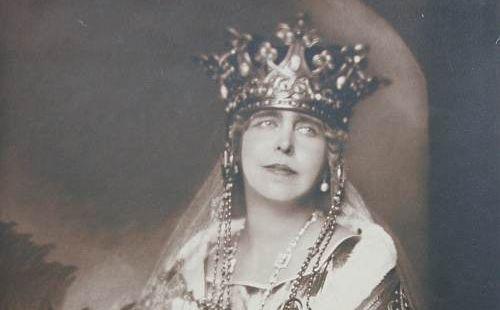 Regina Maria incoronare Alba Iulia